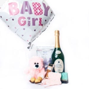 A gift hamper for mum & baby girl