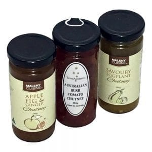 Gourmet food hamper packed with Chutney Trio