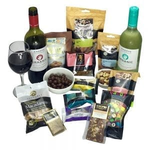 Chocolate hampers packed with something organic for everyone