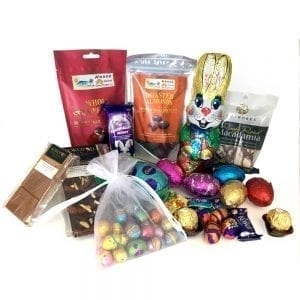 The ultimate Easter gift basket full of chocolates & sweets