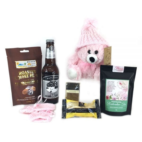 Gift hampers for mum, dad, & bub