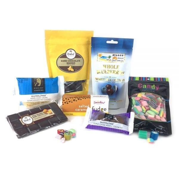 Chocolate hamper from GF sweet lover's