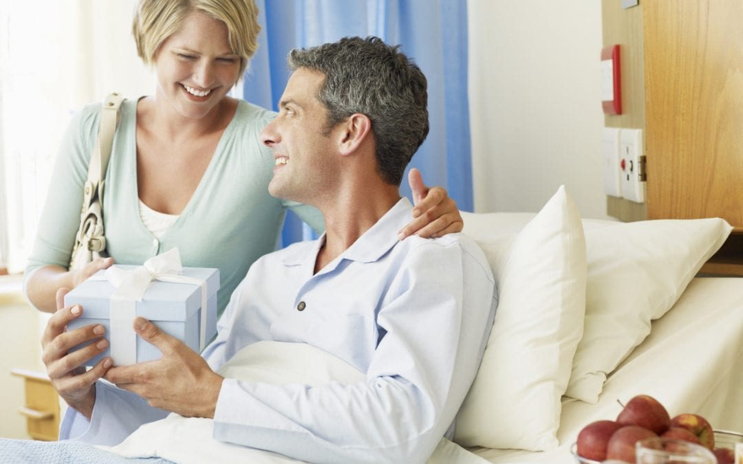 Five ways to guarantee you get the right gift for someone in hospital